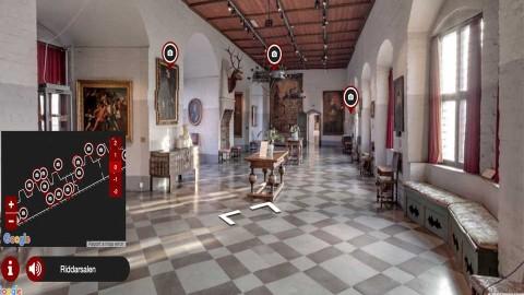 Gå på rundtur på Malmöhus slott – virtuellt!