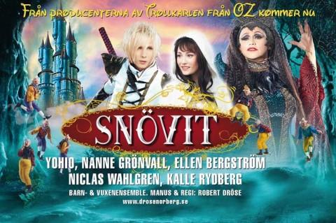 Snövit – the musical på Fjällräven center i Örnsköldsvik