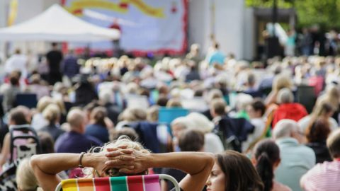 Sommarlunds första hela vecka bjuder på skoj för barn och kyrkokonserter