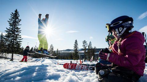 Stort intresse för vintersemester i Kläppen