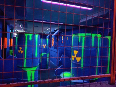 Barnkalas på Laserdome Hägersten