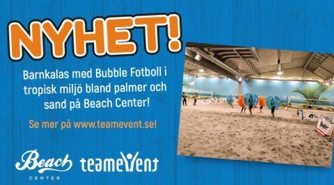Barnkalas med Bubble Fotboll