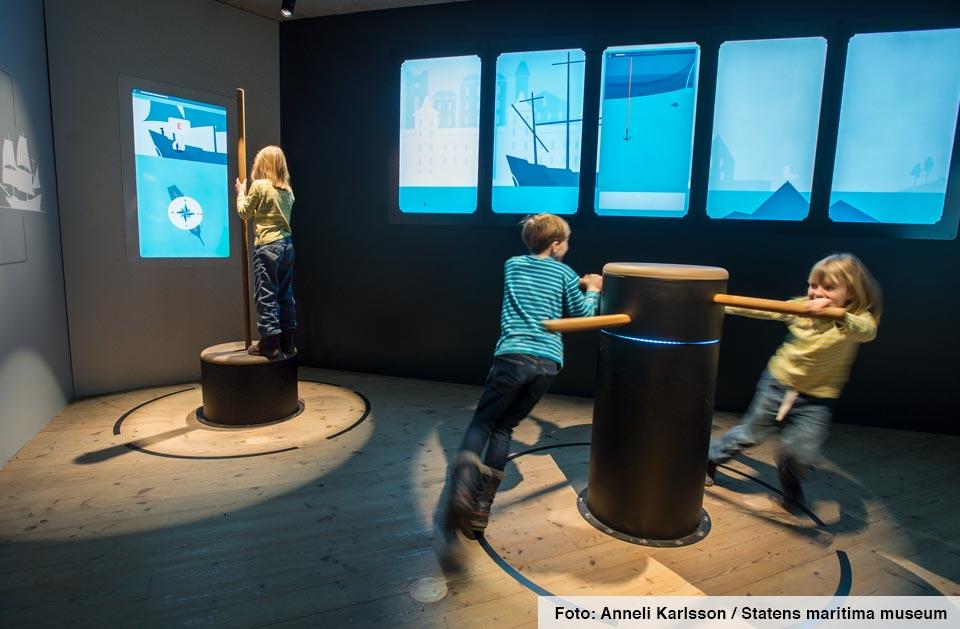 Vasamuseet - Segla ett skepp