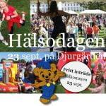 Hälsodagen - en familjefest med Bamselopp och familjeyoga, Stockholm