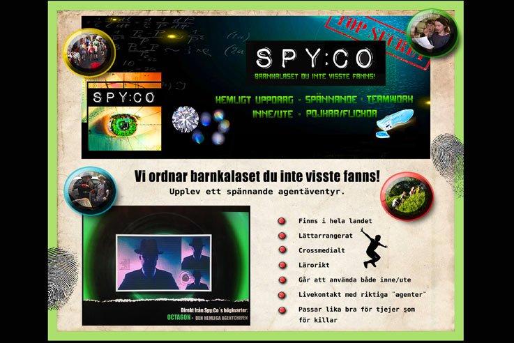 Agentkalas från Spy:Co Borgholm