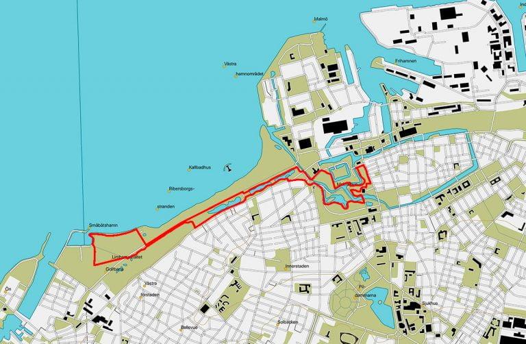 Hälsans Stig, Malmö City
